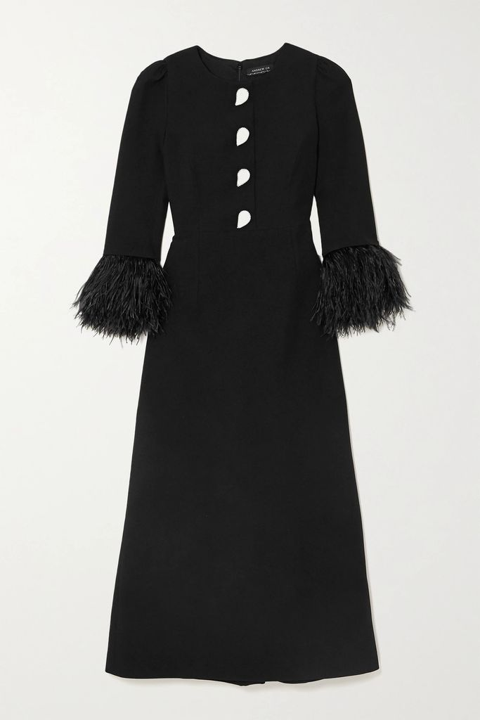 MM6 Maison Margiela - Cutout Cotton-blend Jacket - Antique rose