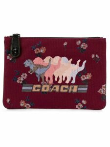 Coach Shadow Rexy turnlock pouch - Red