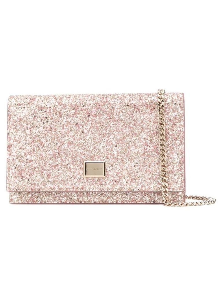 Jimmy Choo Lizzie clutch - Pink