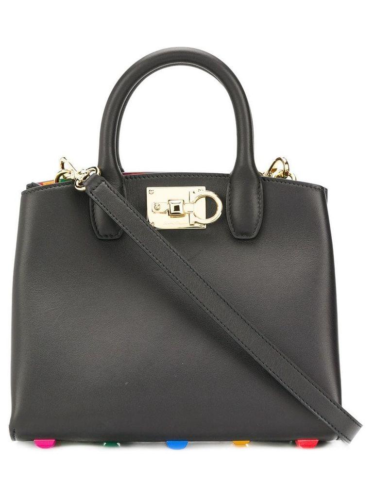 Salvatore Ferragamo Studio mini bag - Black