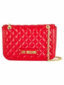 Love Moschino quilted shoulder bag - Red