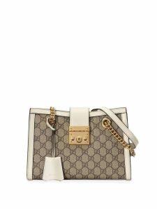 Gucci Padlock small GG shoulder bag - Neutrals