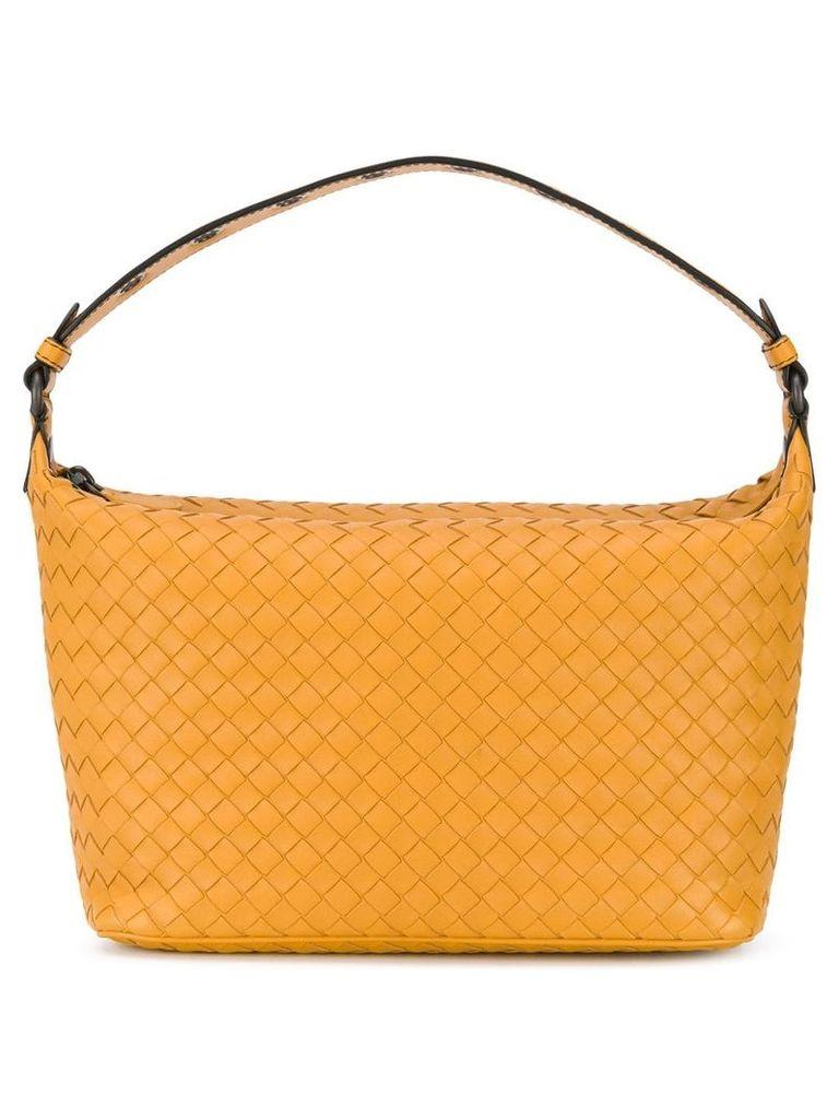Bottega Veneta intrecciato shoulder bag - Yellow