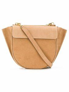 Wandler medium Hortensia shoulder bag - Brown