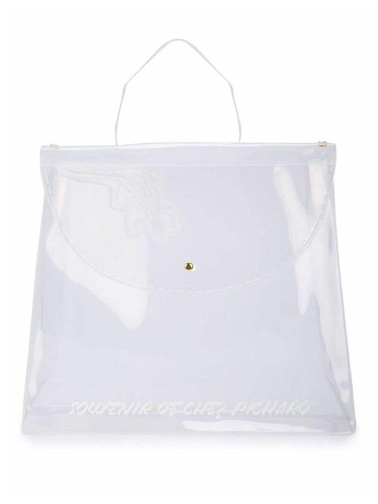 Amélie Pichard logo souvenir bag - White