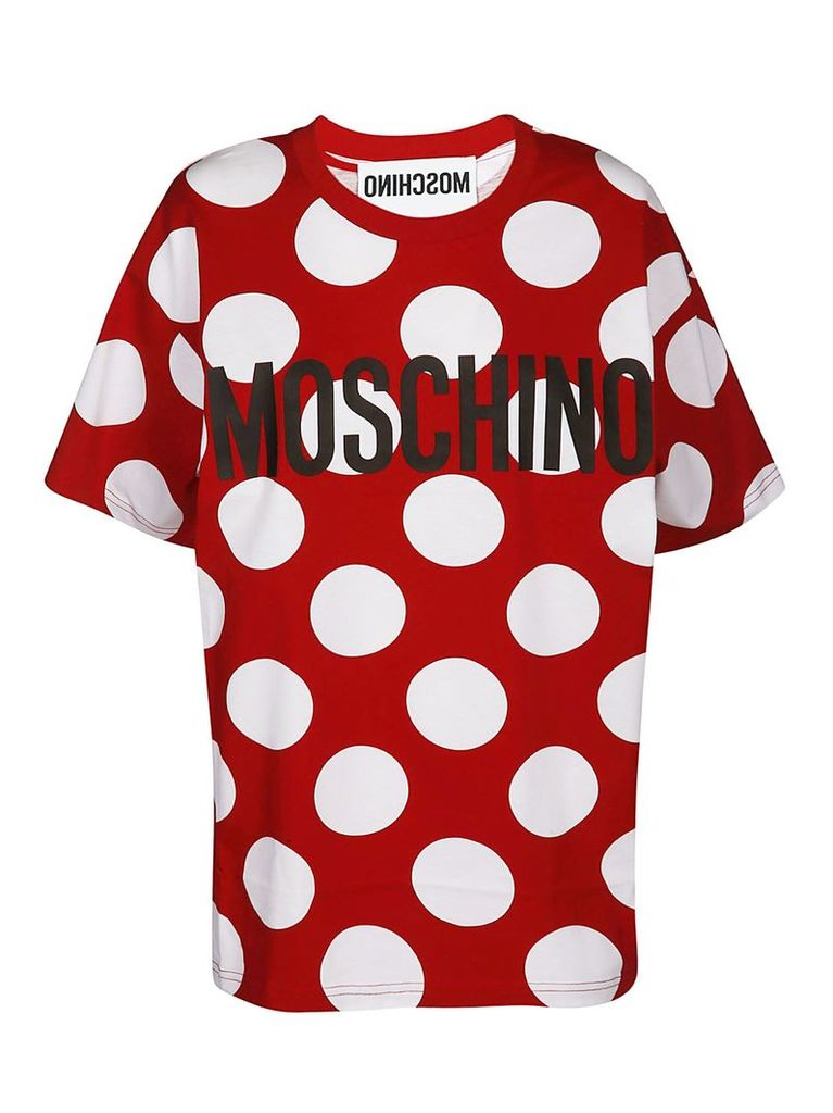 Moschino Logo Dotted T-shirt