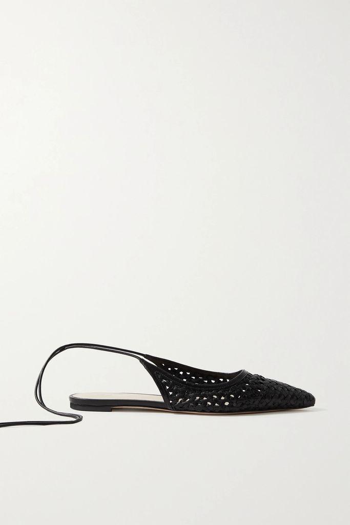 BERNADETTE - Floral-print Crepe De Chine Midi Skirt - Mint