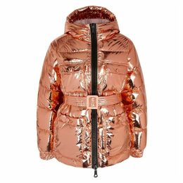 IENKI IENKI Berlin Rose Gold Quilted Shell Jacket