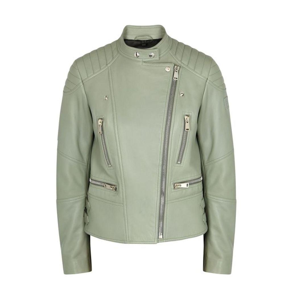 Belstaff Sidney 3.0 Sage Leather Jacket