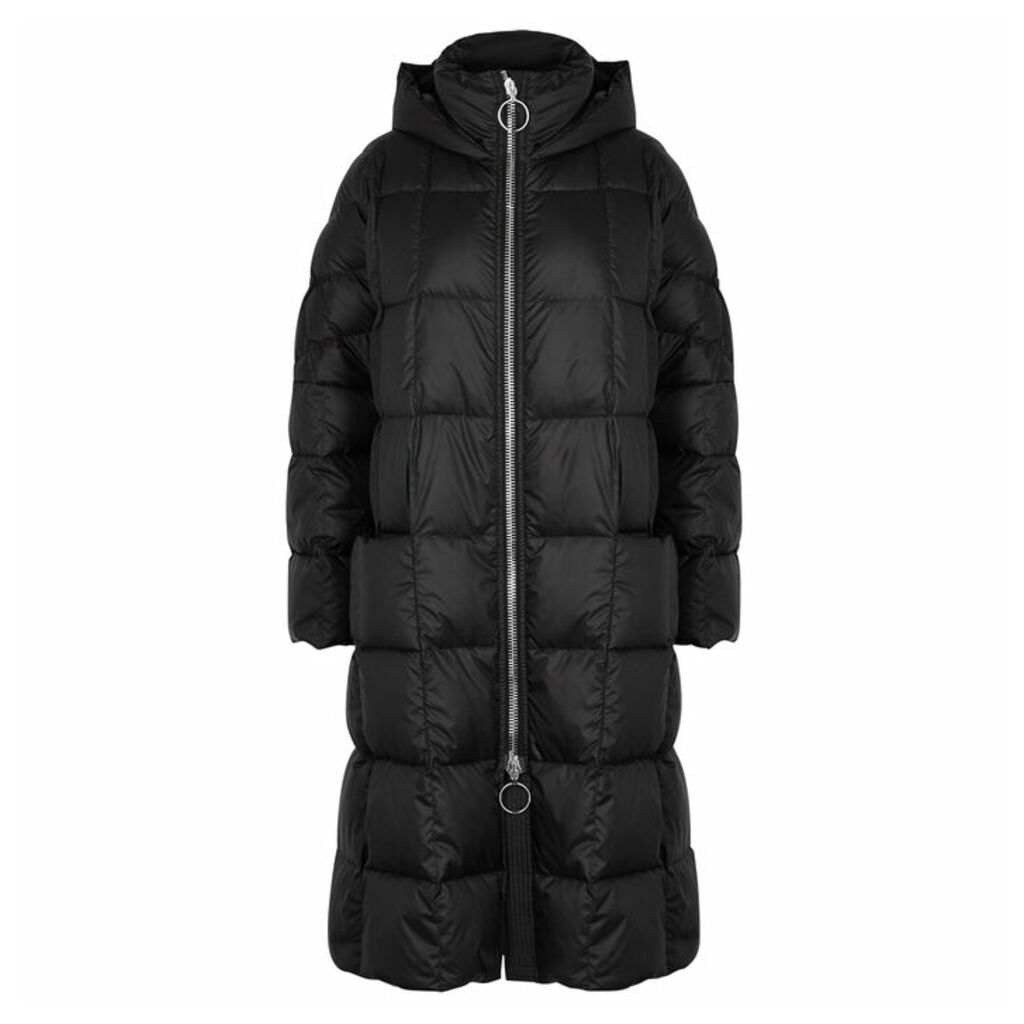 IENKI IENKI Pyramide Black Quilted Shell Parka