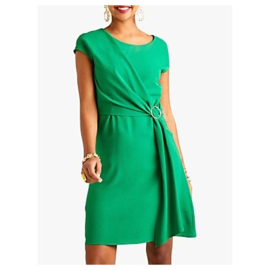 Yumi Kimono Eyelet Dress, Green