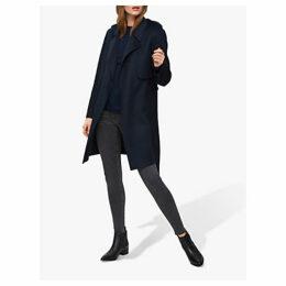 Selected Femme Tana Short Coat, Dark Sapphire