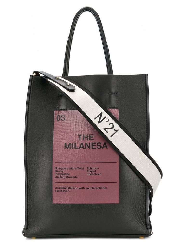 Nº21 The Milanesa tote - Black