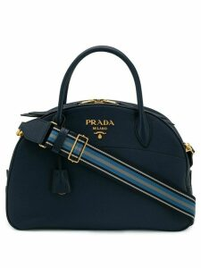 Prada logo tote bag - Blue