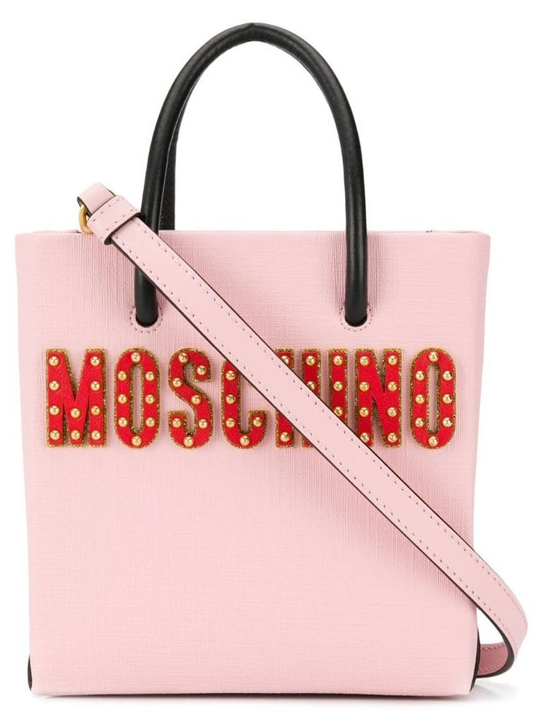 Moschino Circus Teddy tote bag - Pink