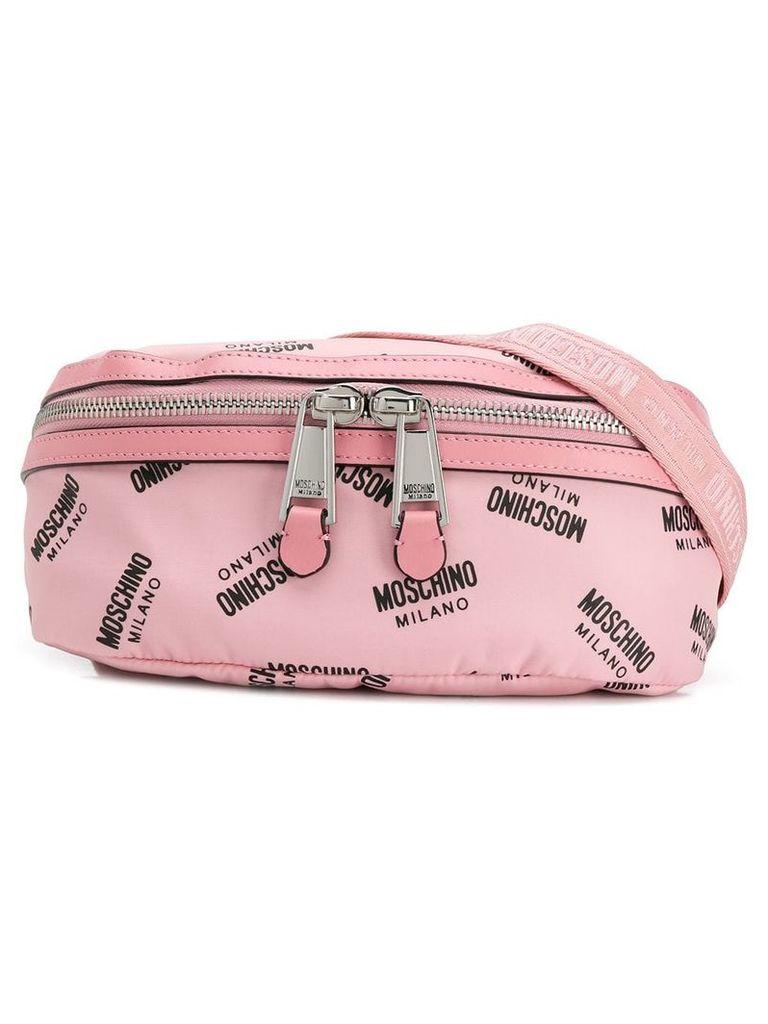 Moschino small logo belt bag - Pink
