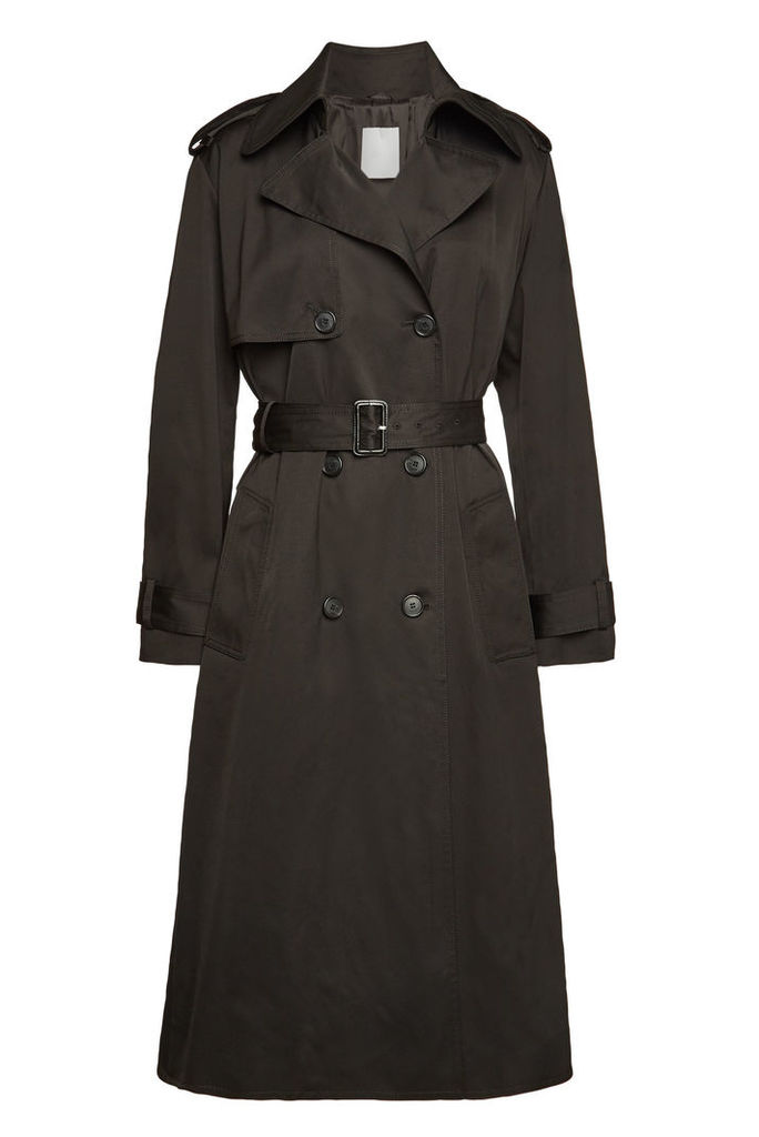 Boss Cifana Trench Coat with Cotton