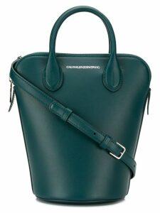 Calvin Klein 205W39nyc mini Dalton bucket bag - Blue