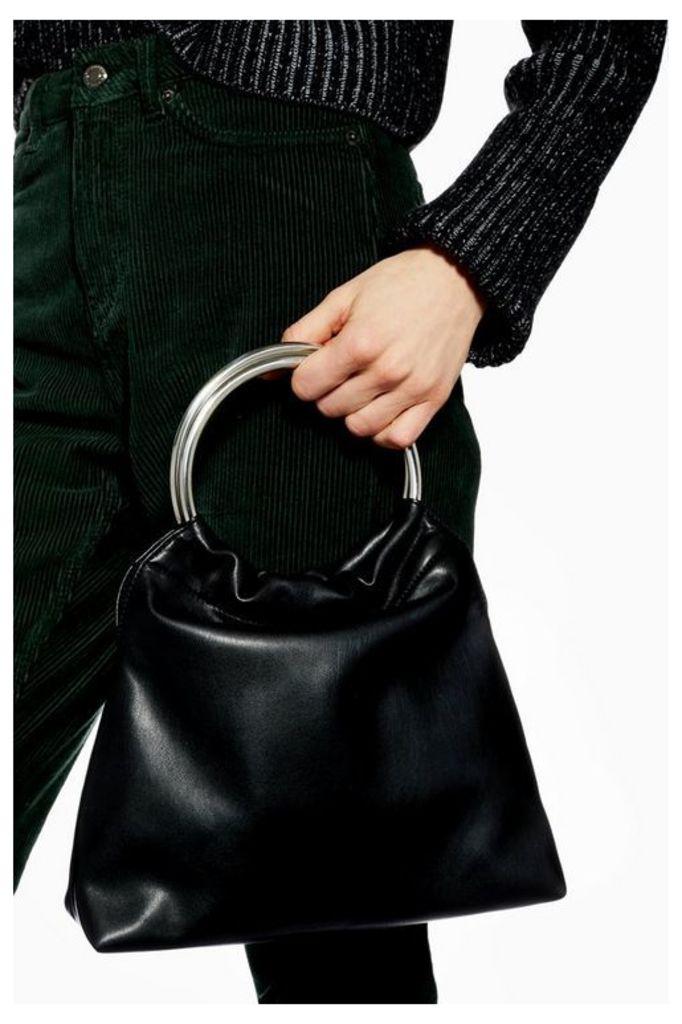 Womens Tara Soft Pu Tote Bag - Black, Black