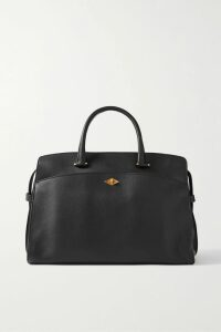 Etro - Ruffled Floral-print Silk Crepe De Chine Wrap Dress - Black