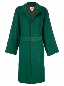 Hermès Pre-Owned classic trench coat - Green