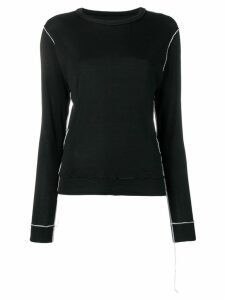 Maison Martin Margiela Pre-Owned contrast piping detailed sweatshirt -