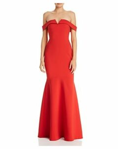 Likely Misisco Off-the-Shoulder Gown