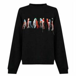 ALANUI Embroidered Sweatshirt