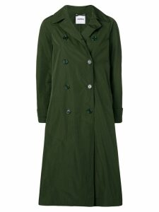 Aspesi double-breasted midi coat - Green