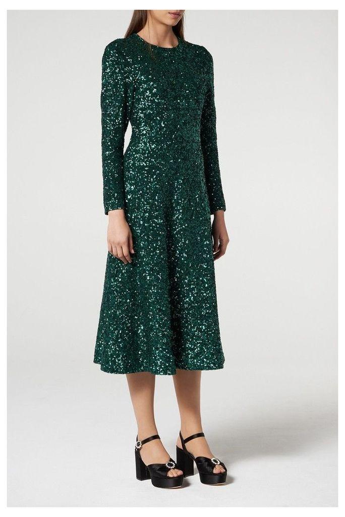 Womens L.K.Bennett Green Lazia Dress -  Green