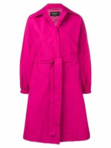 Rochas oversized fit coat - Pink