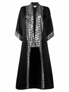 Temperley London Luminary kimono - Black