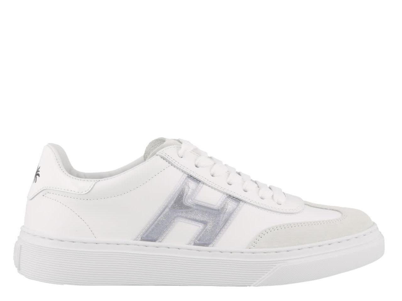 Hogan H365 Palms Print Sneakers