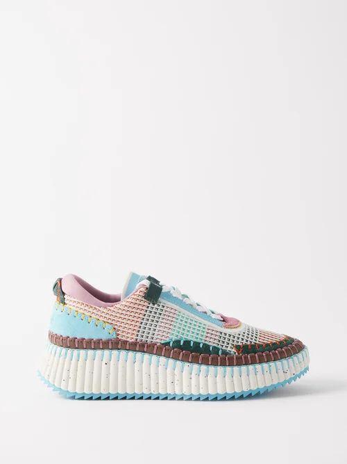 Vivienne Westwood - Garret Chinese Jacquard Slit Midi Skirt - Womens - Grey Multi