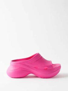 Dodo Bar Or - Lola Ruffle Sleeve Cotton Maxi Dress - Womens - Yellow Multi