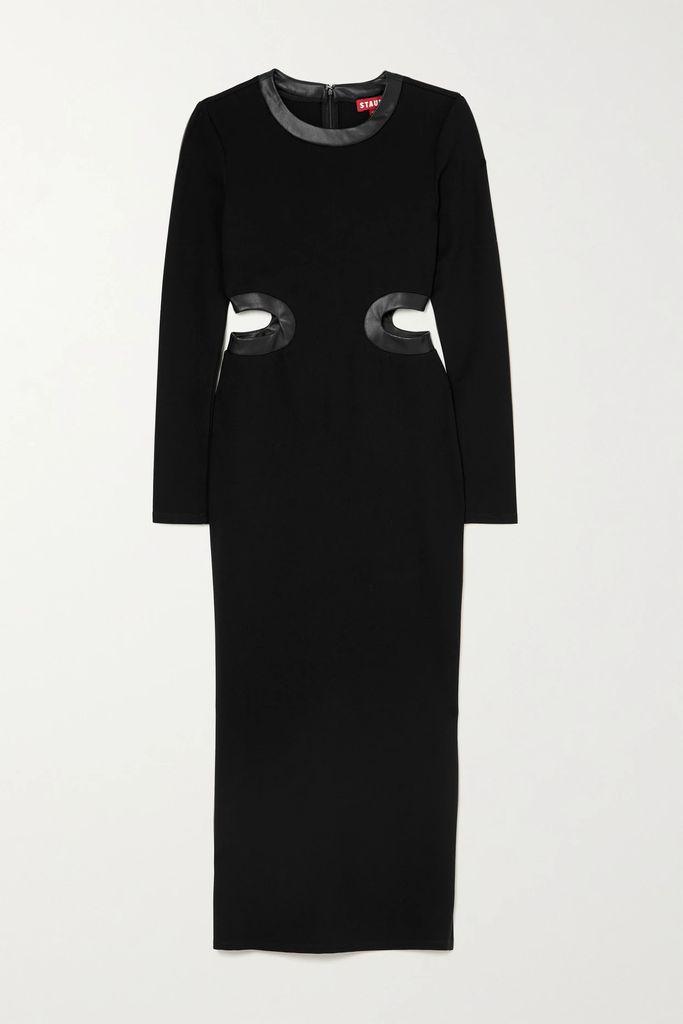 Valentino - Valentino Garavani Candystud Mini Quilted Leather Shoulder Bag - Black