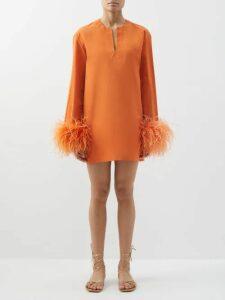 Phipps - Logo Print Cotton Sweatshirt - Womens - Blue