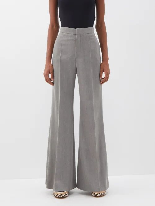 Allude - Hooded Wool And Cashmere Blend Sweater - Womens - Brown