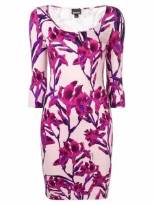 Just Cavalli floral fitted mini dress - Pink