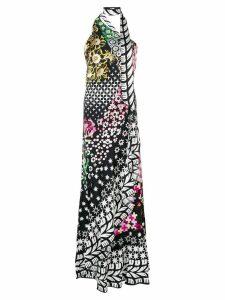 Temperley London Claudette one shoulder dress - Black