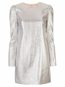 Rachel Zoe metallic shirt dress