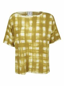 f cashmere Checked Print Top