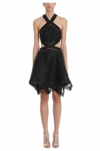Zimmermann Corsage Halter Mini Dress