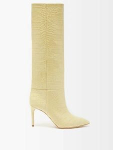 The Upside - Frill Muscle Logo Printed Tank Top - Womens - Khaki