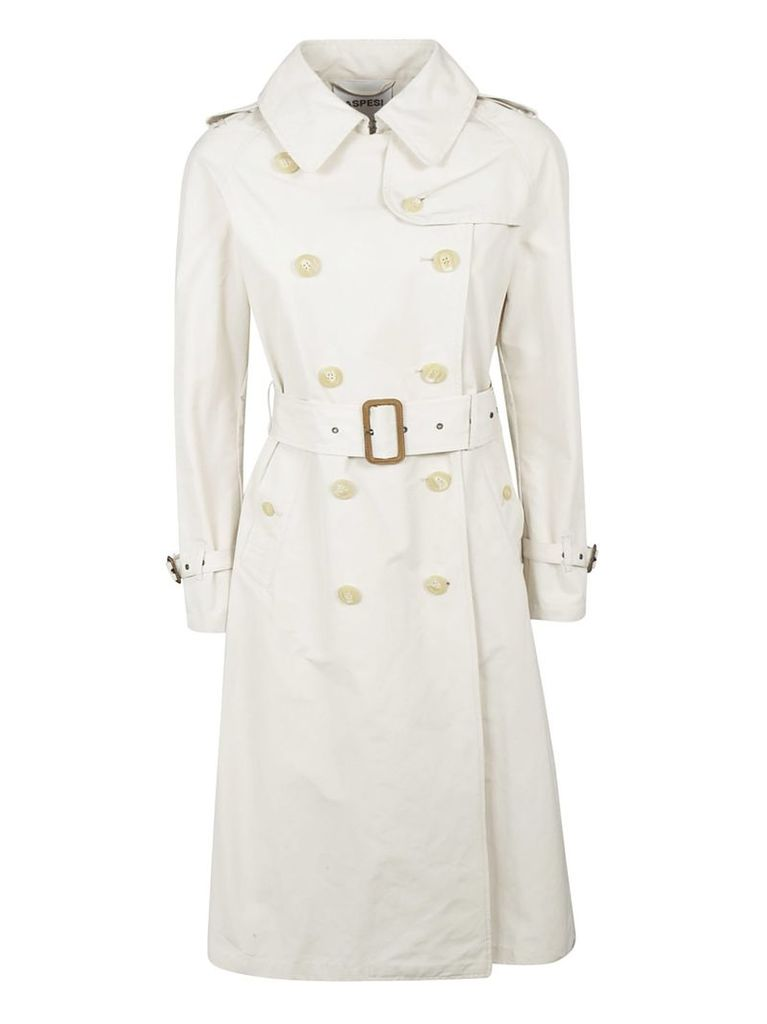 Aspesi Double Breasted Belted Trench