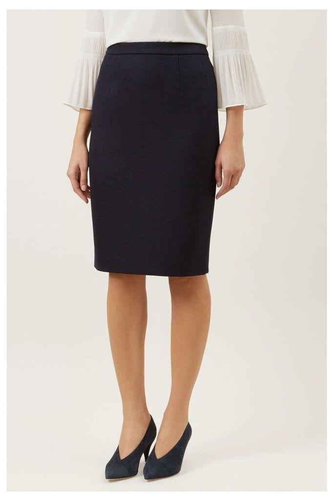 Womens Hobbs Navy Everly Skirt -  Blue