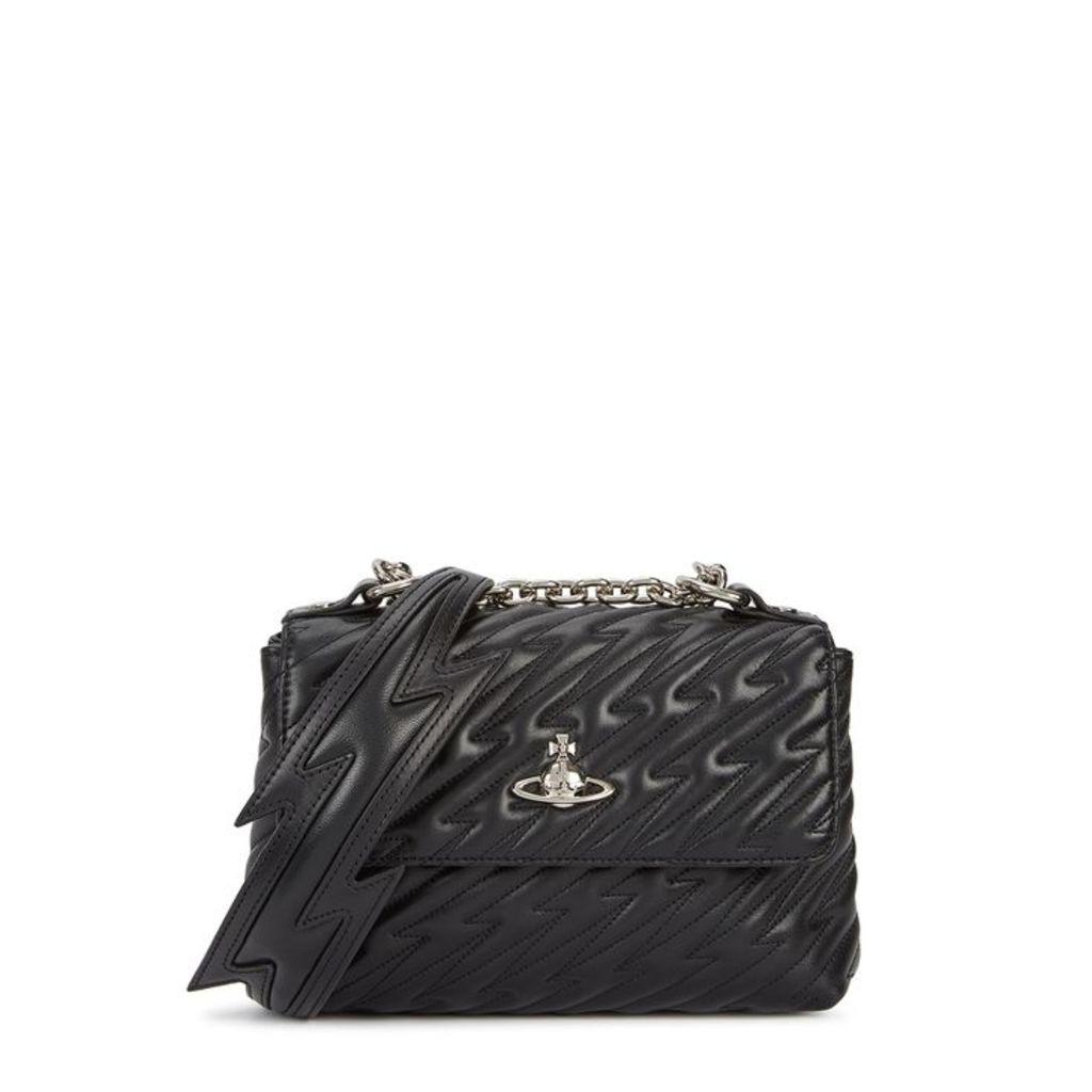 Vivienne Westwood Coventry Medium Leather Cross-body Bag