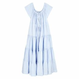 Innika Choo Alotta Güd Embroidered Cotton Dress