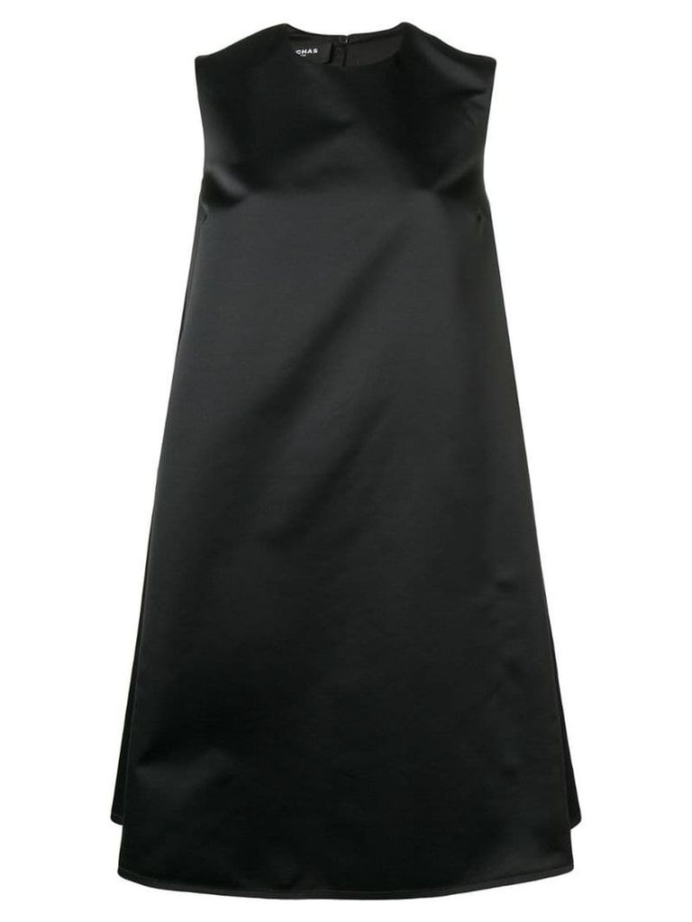 Rochas short flared dress - Black