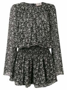 Saint Laurent paisley printed dress - Black